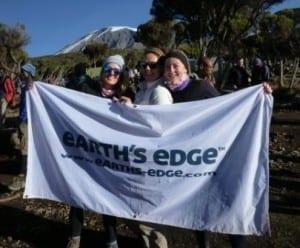 Kilimajaro Earths Edge Flag